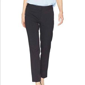 Nine West seersucker Skinny lined trouser pants 8